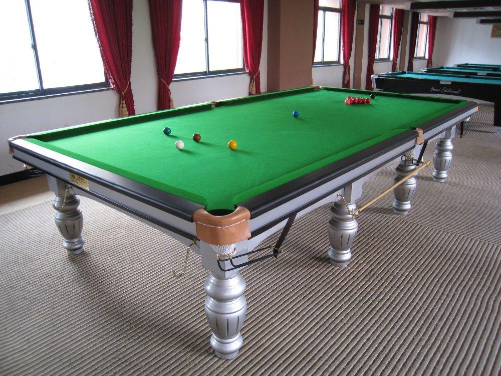 Standard Bumper Pool Poker Table Russian Pyramid Billiard Table