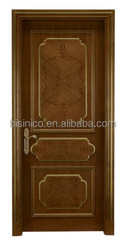 Antique Wood Framed Decorative Entry Door,Retro Style Lacquer ...