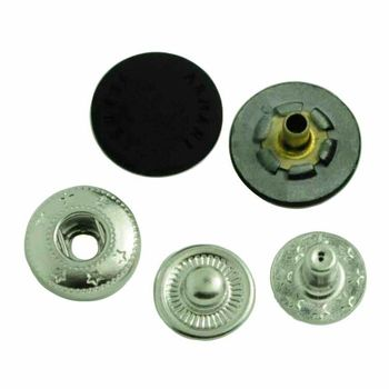cheaper metal zinc alloy button bulk snaps fastener