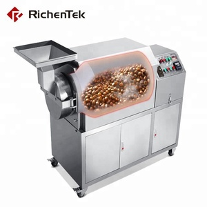Food factory spice roaster red pepper chili roasting machine for sale