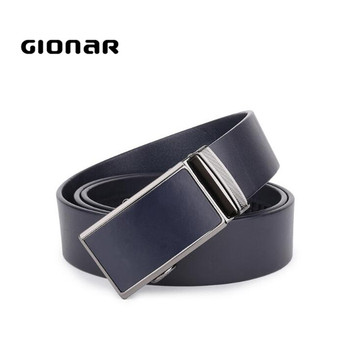Fashion Wholesale Automatic Brown And Black Mens Leather Belt