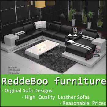 New Design Cheers Modern Leather Sofa Furniture