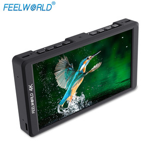Feelworld mini 5 inch lcd monitor with 1920x1080 high resolution screen HDMI Input Output F570
