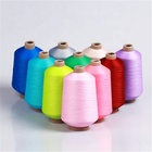 75D/1 high stretch polyester yarn dyed with high tenaicty for knitting