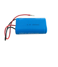 led lights battery 18650 6.4v lifepo4 rechargeable battery pack 1.4ah 6v lifepo4 nano phosphate battery pack