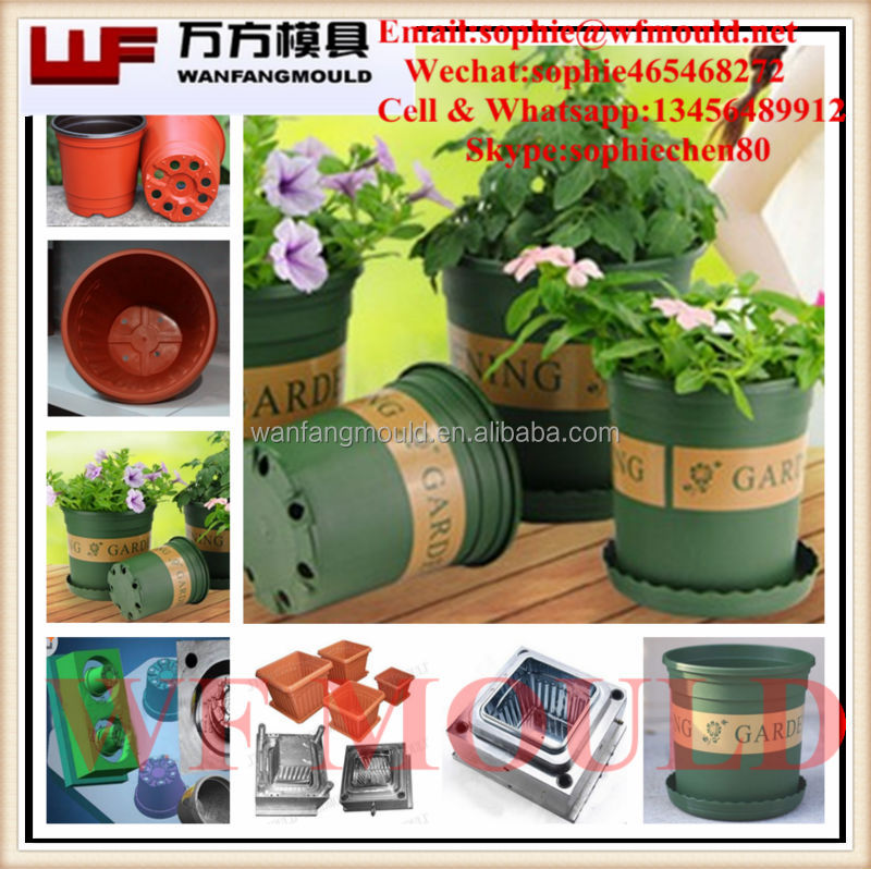 chinese supplier supply flower pot garden mould Custom plastic Garden Pot mould for Garden Pot