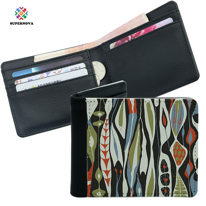 2019 New Arrival SUPERNOVA Sublimation Products, Blank Sublimation Men Wallet , Sublimation Leather Blanks фото