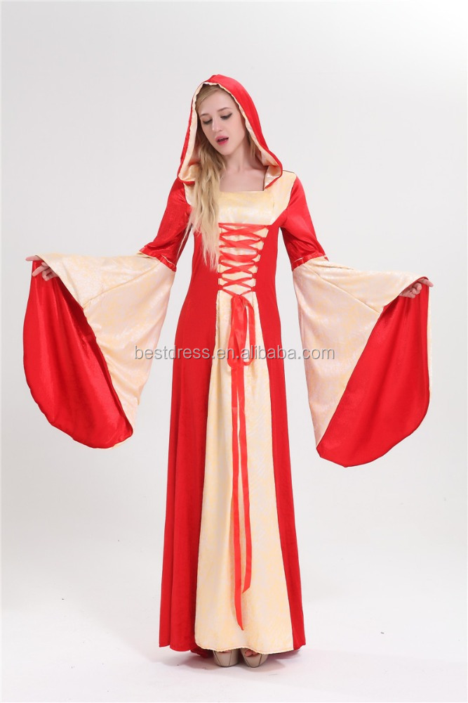 Walson appearl Adult Renaissance Medieval Game Costume lady TV movie Carnival Cosplay party Dress