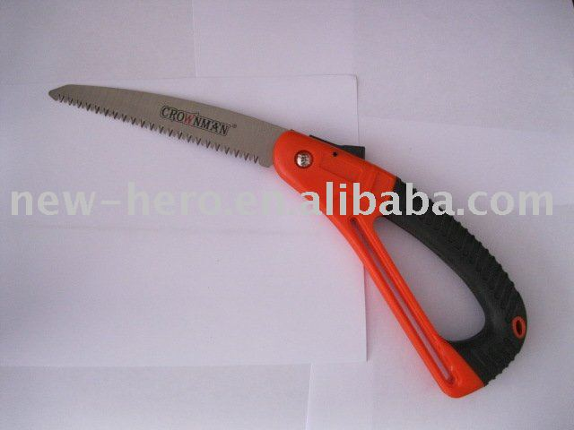 pull-stroke pruning saw