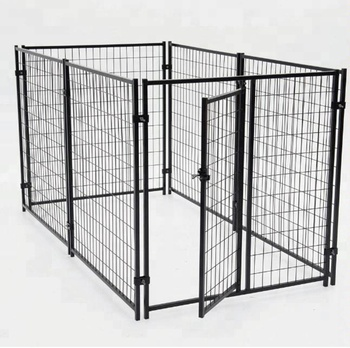 6ft*5ft or 6ft*10ft weld dog cage / iron fence dog kennel