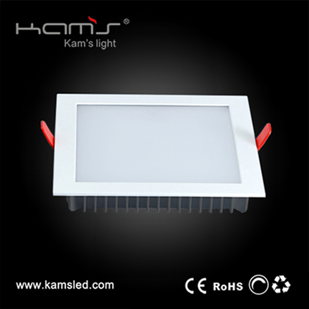 8 inch 30W KAS-DL16 series SMD LED square downlight retrofit recessed ceiling light