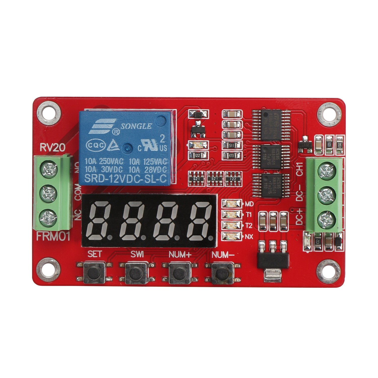 Cheap 24 Volt Timer Relay Find Deals On Line At To 12 Get Quotations 12v Dc Module Drok Multifunctional 1 Channel Board Programmable Cycle