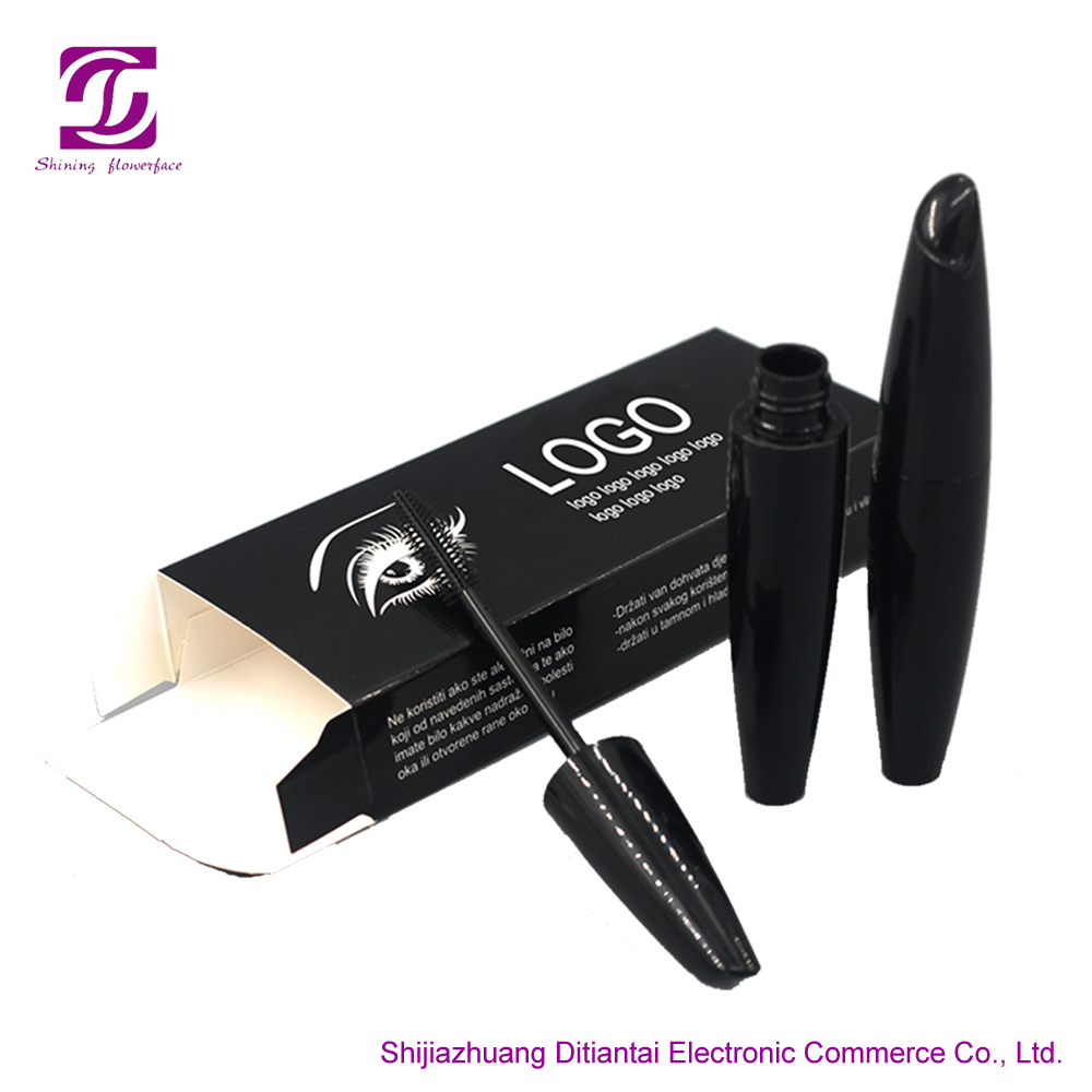 Wholesale waterproof eye makeup private label 3d fiber lash mascara,