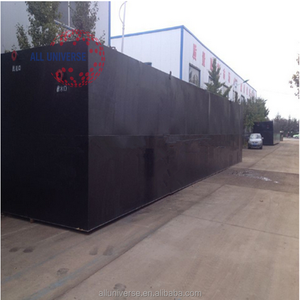 Compact Structure Underground Integrated Sewage Treatment Equipment For Printing Waste Water Treatment