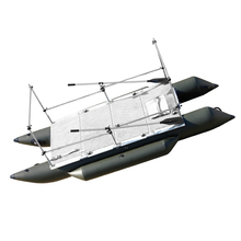 AQUOS Catermaran Inflatable Fishing Boat Kayak