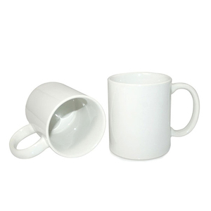 creamic product supplier custom promotional gift orca coating white plain sublimation ceramic mug cup