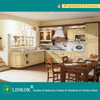 Kleine Räume Massivholz Küchenschränke Satz Kochnische Design Ideen
