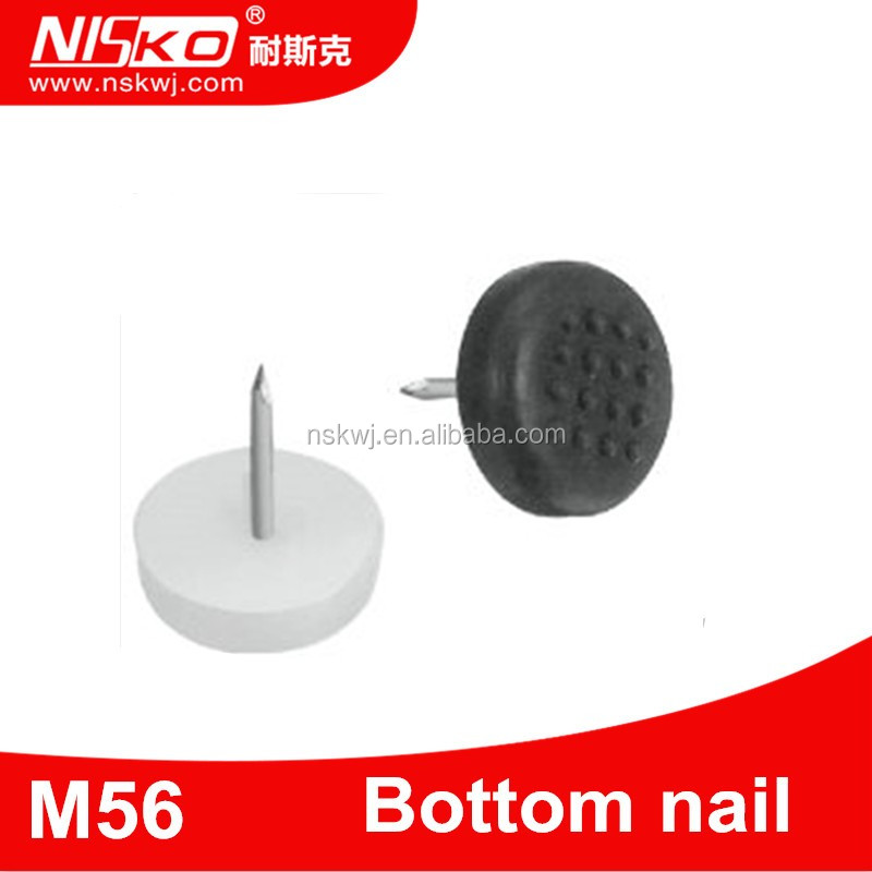 New Designs Bottom Plastic Furniture Nail Glide For Chair