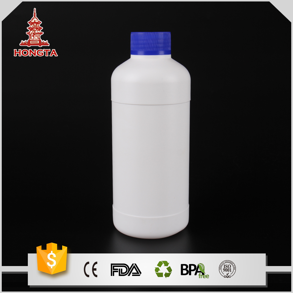 Yiwu plastic liquid container packaging 500ml 17oz custom oil pesticide lubricant water bottle