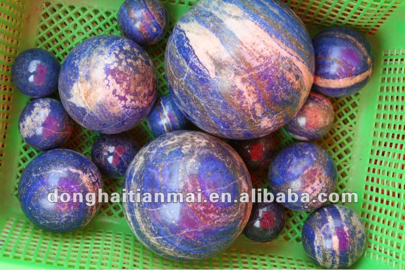 Lazuli ball/Rare Stunning Natural Blue Quartz Crystal /Healing Ball wholesale