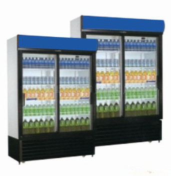 600L High Quality Glass Door Cold Drink Refrigerator With CE UL RoHS