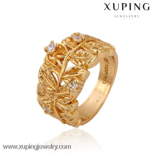 11407 Hot sales popular 18k gold color ring muslim