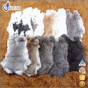 Factory Wholesale Natural Raw Rabbit Skin Price
