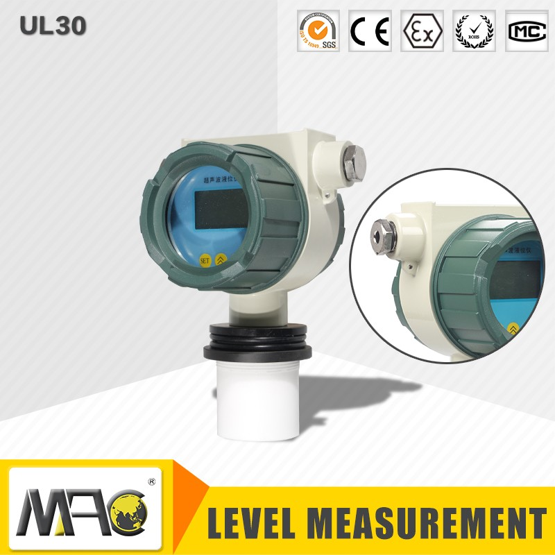 Fuel Water Tank Ultrasonic Level Transmitter, Ultrasonic Digital Level Meter
