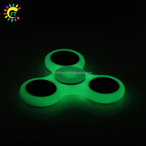 Glow Finger Spinner LED Flashing Finger Spinner Fidget