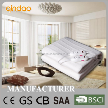 Rapid heating home appliance machine washable heated blanket