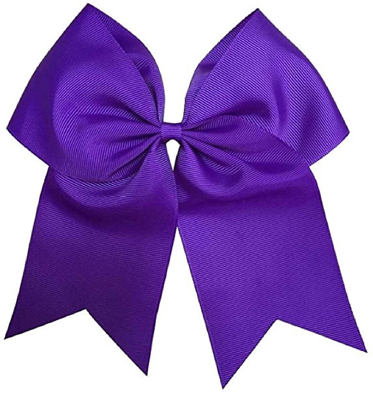 "NEW /""Light Purple Glitz/"" Cheer Bow Pony Tail 3/"" Ribbon Girls Bows Cheerleading"