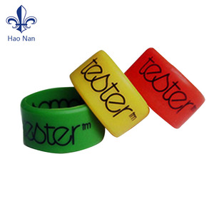Best Selling Items Custom Personalized Silicone Wristband Ring