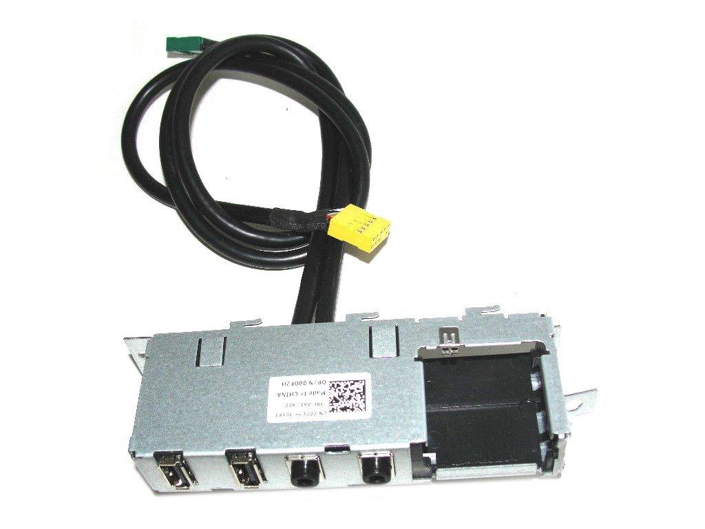 Dell Vostro 230 Slim Tower USB Audio I/O Panel 0DF2H