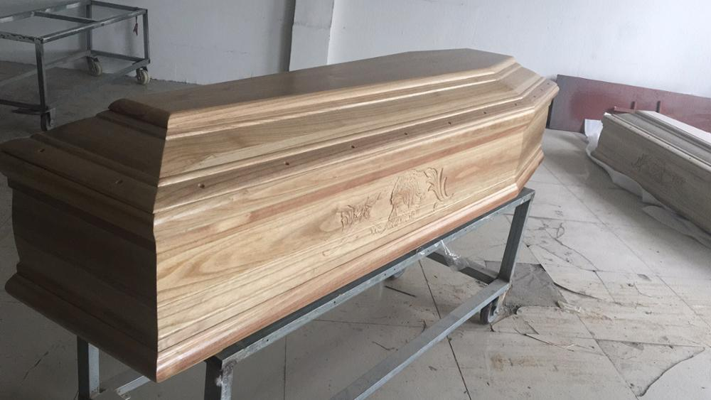 JD-01 Europe MDF funeral coffin cheap coffins for sale