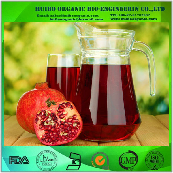 organic pomegranate juice concentrate / fresh natural pomegranate juice concentrate