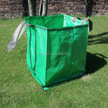 Garden Plastic Lawn And Leaf Bag Holder, Recycled Woven Garden Lawn Leaf Tote Bag