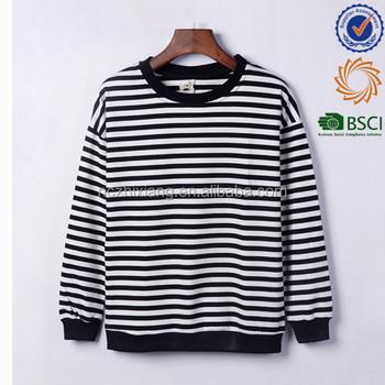 7e069dac8a0 Wholesale 100% Cotton Men s Long Sleeve Blank Striped T-shirts