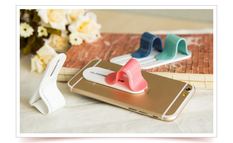 Promotion product flexible multiple phone finger grip multi band phone holder