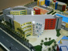 School model / Canadian school model / senior school architectural miniatures / School planning scale model making
