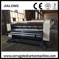 NC cut off machine spiral knife(straight knife) / China carton box making machine prices