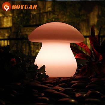 Plastic Led Furniture Led Mushroom Light Led Table Lamp Buy