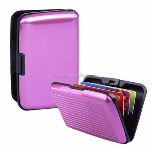 RFID Blocking waterproof business id credit card wallet holder