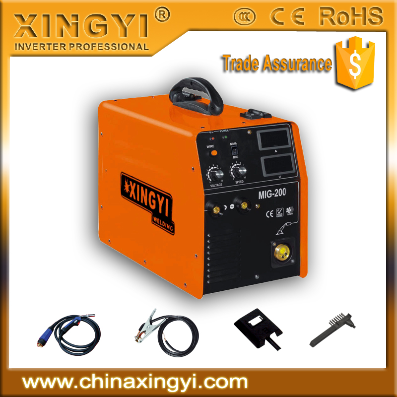 CE CCC ROHS TUV Top quality low cost 180amp DIY INVERTER PORTABLE MIG MAG WELDER MIG/CO2 -180
