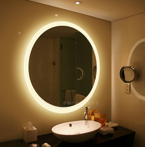 Corner Bathroom Mirror With Light Suppliers And Manufacturers At Alibaba