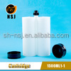 1500ml1:1 pneumatic caulking gun for plastic chemical storage container