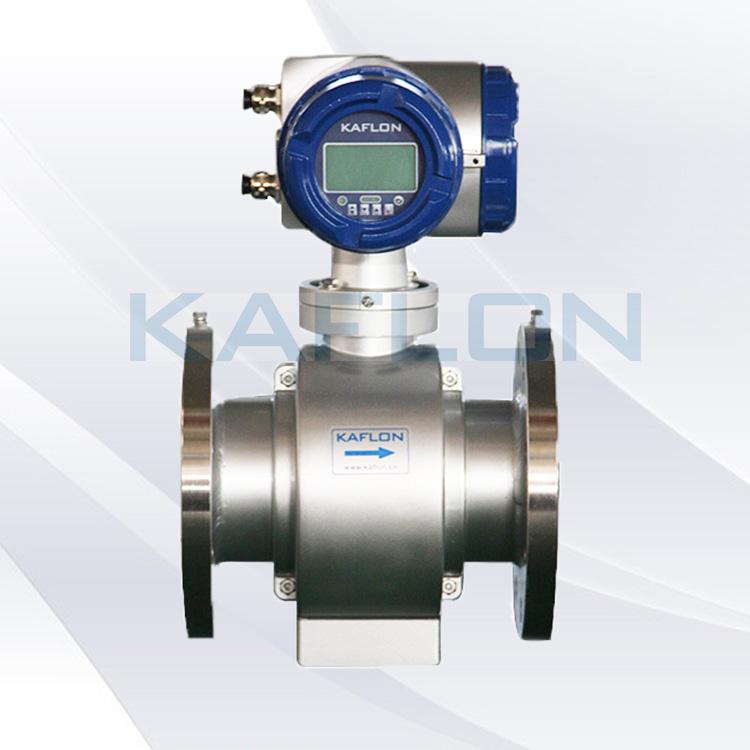 Low cost 100mm digital flange electromagnetic water flowmeter,refrigerant flow meter