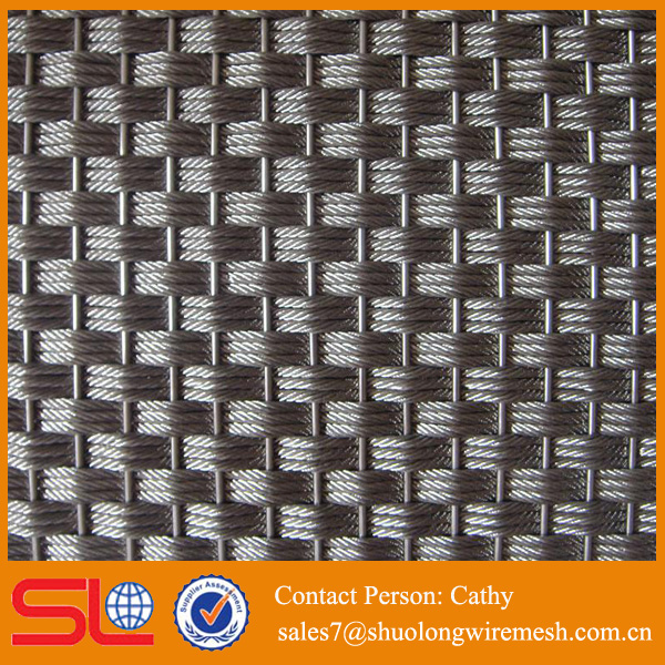 Anping company plain weaving colored decorative wire mesh netting
