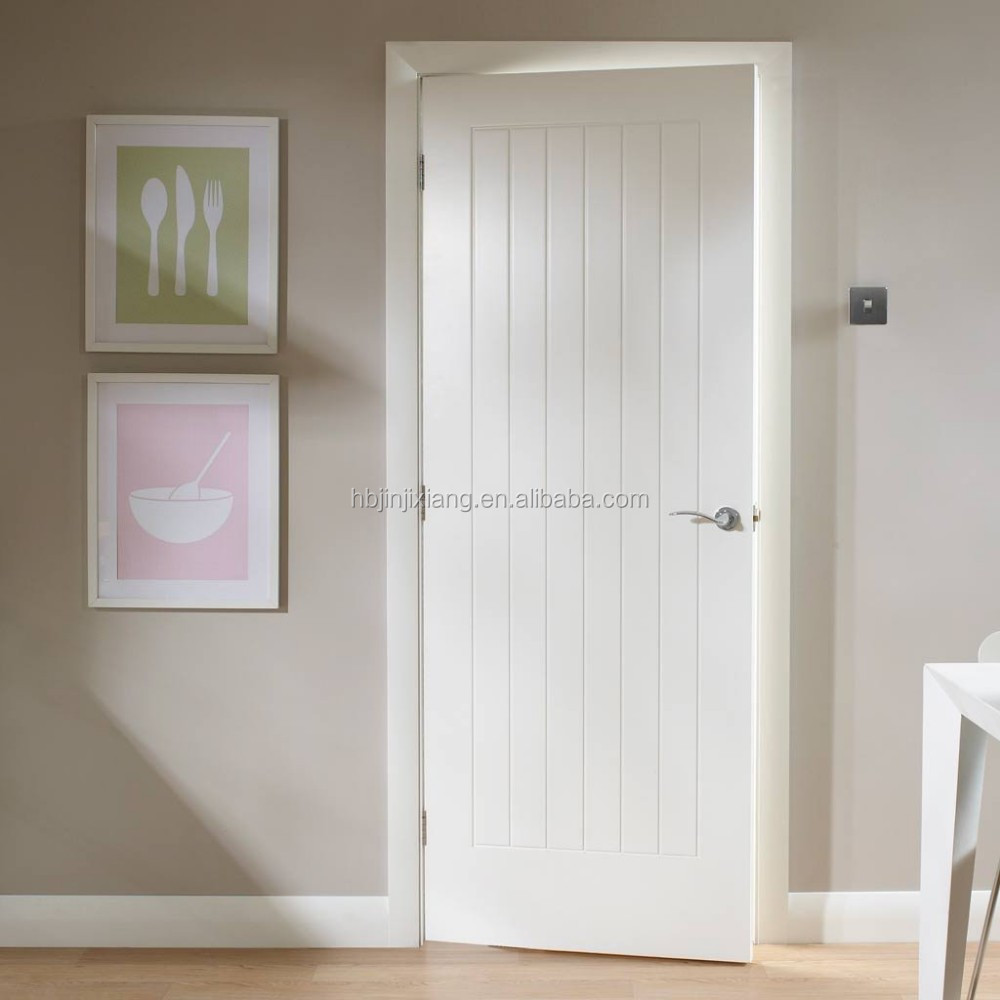 Smooth Flush Solid Core White Primed Mdf Interior Door Buy Solid