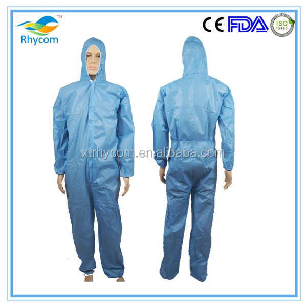 cheap work Dust Spray Suit Printed Disposable Coveralls