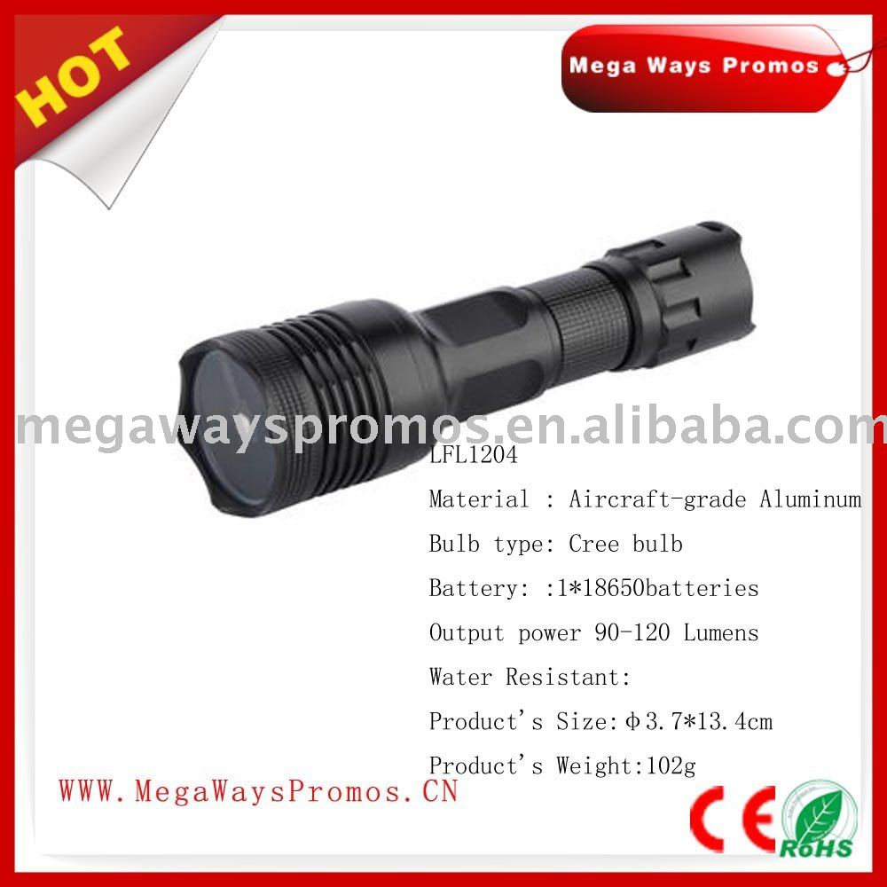 mini black matt flashlights,bulk led flashlights, LED torch